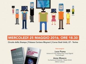"""A Palazzo Ceriana Mayneri: """"Diritti e rischi dei corpi digitali"""""""