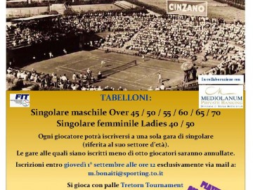 "CAMPIONATI REGIONALI 2016 LADIES E OVER ""TROFEO ADAMANTIS"""