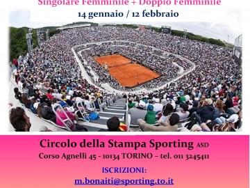 Internazionali BNL d'Italia, torneo di 4^ cat. femminile