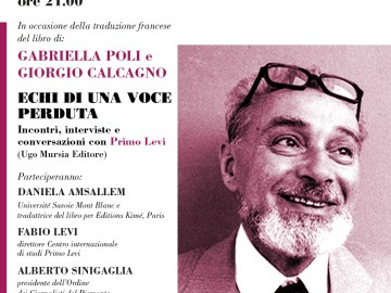 Palazzo Ceriana Mayneri 28 marzo: Anniversario Primo Levi