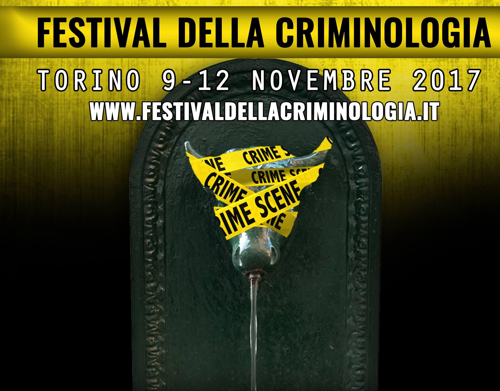 A Palazzo Ceriana Mayneri: Festival della Criminologia 9/12 novembre