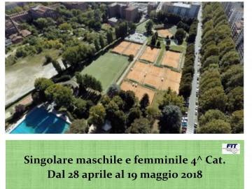 TORNEO DI SINGOLARE MASCHILE E FEMMINILE 4.1