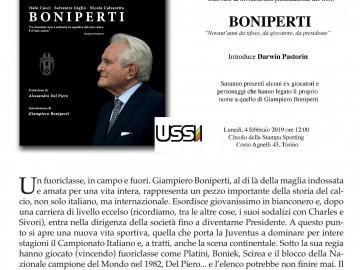 ALLO SPORTING LUNEDI' 4 FEBBRAIO I NOVANT'ANNI DI BONIPERTI