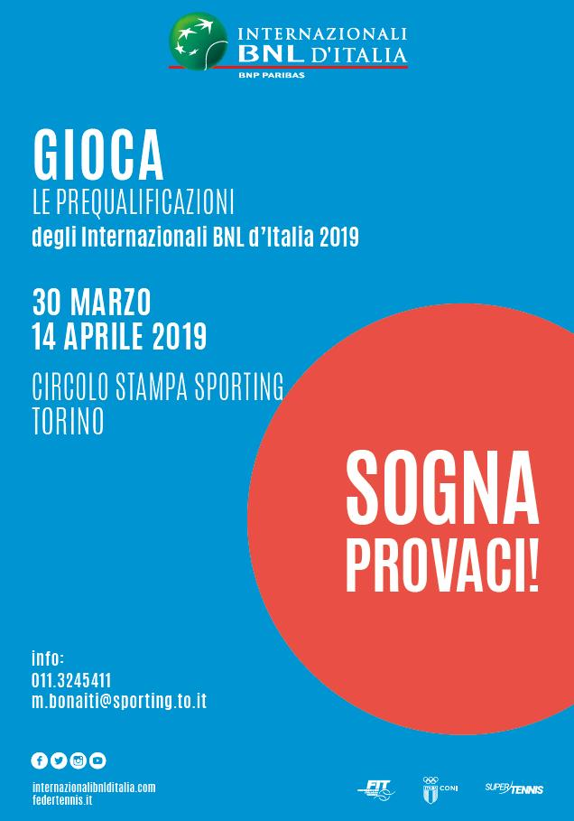 TORNEO OPEN FEMMINILE BNL INTERNAZIONALI D'ITALIA
