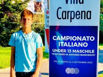CAMPIONATI ITALIANI, PECORINI SEMIFINALISTA UNDER 13