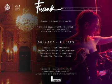 """IL DEBUTTO DI """"FRANK, SERATE SULLE NOTE DI UN TEMPO LENTO"""""""