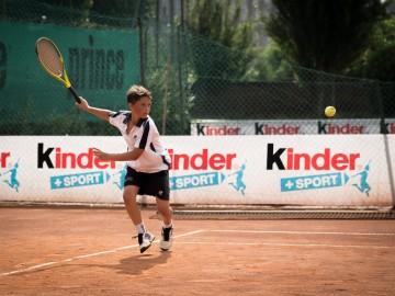 Al via il Trofeo Tennis Kinder+Sport