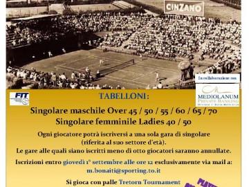 """CAMPIONATI REGIONALI 2016 LADIES E OVER """"TROFEO ADAMANTIS"""""""
