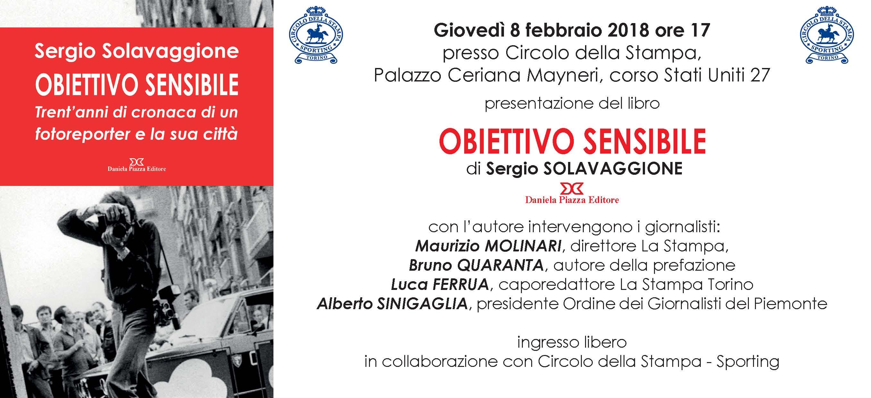 A Palazzo Ceriana Mayneri giovedì 8 febbraio presentazione del libro di Sergio Solavaggione
