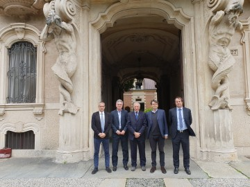 LUCIANO BORGHESAN PRESIDENTE DEL CIRCOLO DELLA STAMPA SPORTING