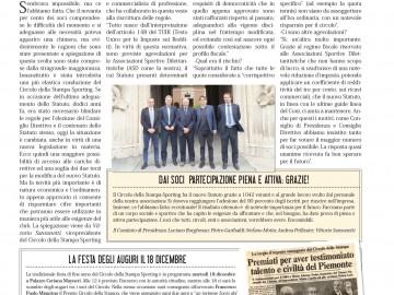 CIRCOLO DELLA STAMPA SPORTING dicembre 2018