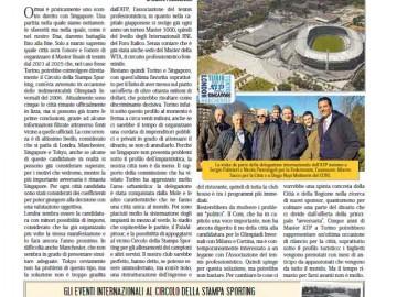 CIRCOLO DELLA STAMPA SPORTING febbraio 2019