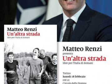 Matteo Renzi a Palazzo Ceriana Mayneri lunedì 18 febbraio