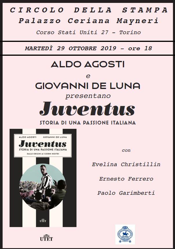 A Palazzo Ceriana Mayneri: JUVENTUS. STORIA DI UNA PASSIONE ITALIANA