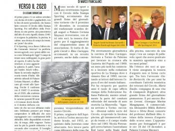 CIRCOLO DELLA STAMPA SPORTING dicembre 2019