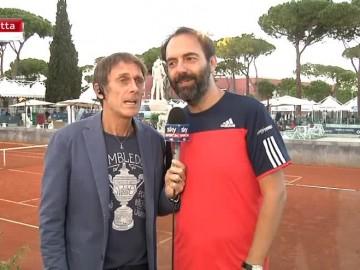 SONEGO, MARCORE' E MELOCCARO, chiacchiere fra tennisti d'eccezione