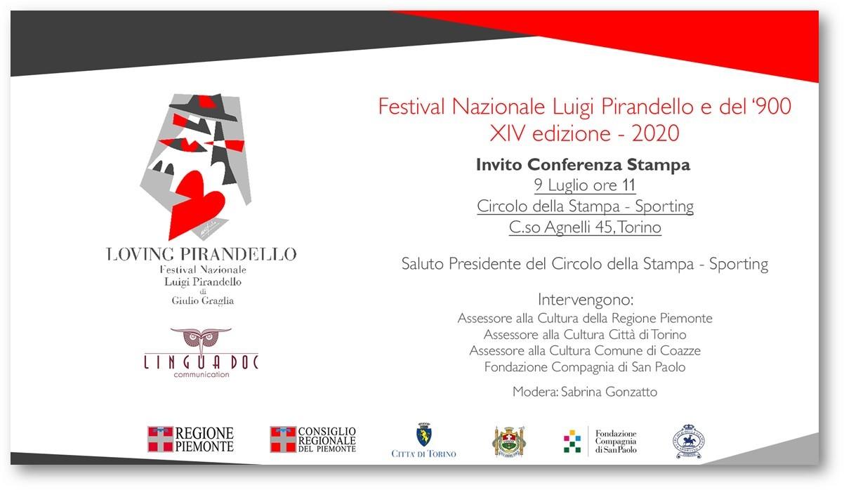 """ALLO SPORTING IL """"XIV FESTIVAL NAZIONALE PIRANDELLO E DEL '900"""""""